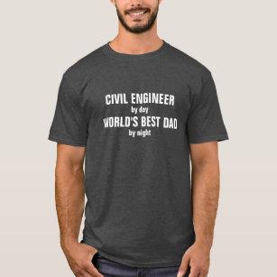 Camisas Camisetas Engenheiro Civil Engraçado Zazzlecombr