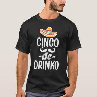 Camiseta engraçada de Cinco de Mayo dos homens de