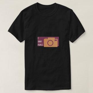 Camiseta engraçada do fotógrafo