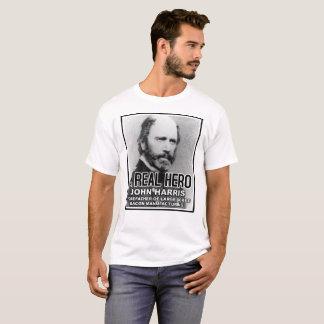 Camiseta engraçada do herói do bacon de John