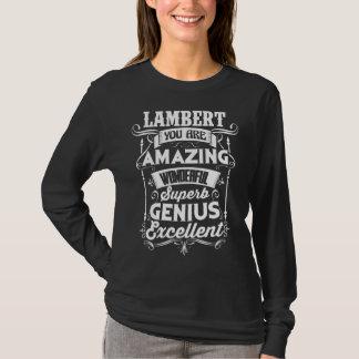 Camiseta engraçada para LAMBERTO