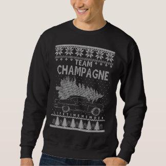 Camiseta engraçada para o CHAMPANHE
