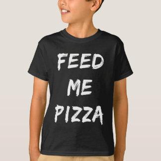 Camiseta Engraçado alimente-me o impressão das citações da