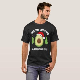camiseta engraçado dos homens do Natal