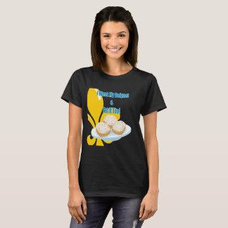 Camiseta Engraçado eu quero meus Beignet & Eat ele