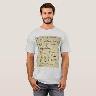 Camiseta Engraçado Fart o t-shirt dos homens do poema