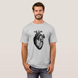 Camiseta Engraçado legal do coração anatômico