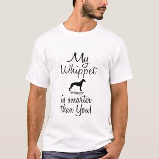 Camiseta Engraçado meu Whippet é mais esperto do que você