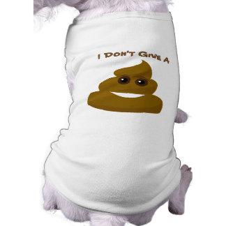 Camiseta Engraçado não dê um Poo Emoji