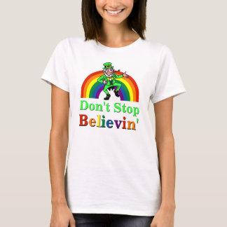 Camiseta Engraçado não pare St. Patricks do Leprechaun de