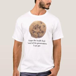Camiseta Engraçado nenhum t-shirt do biscoito dos pedaços