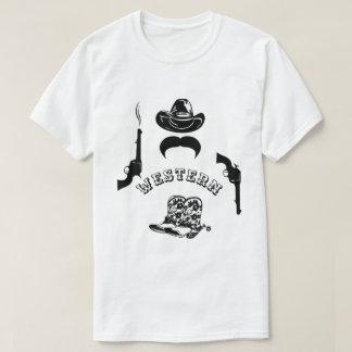 Camiseta Engraçado ocidental, original, elegante,