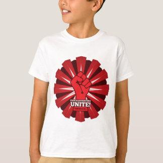 Camiseta Engraçado: Os procrastinadores unem-se! (Amanhã)