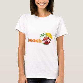Camiseta Engrenagem do Bingo da praia do crescimento