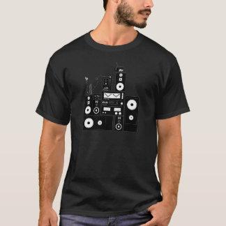 """Camiseta Engrenagem estereofónica """"auto"""" RealFancy reverso"""