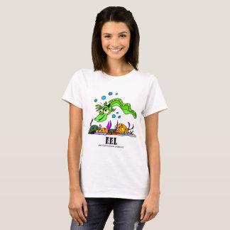 Camiseta Enguia pelo t-shirt das mulheres de Lorenzo