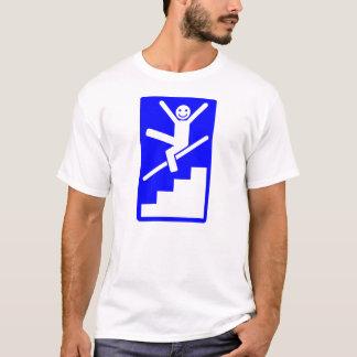 Camiseta Enjoy que desliza abaixo dos corrimões