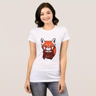 Camiseta Enorme mim panda vermelha