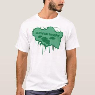 Camiseta Enraizado e aterrado