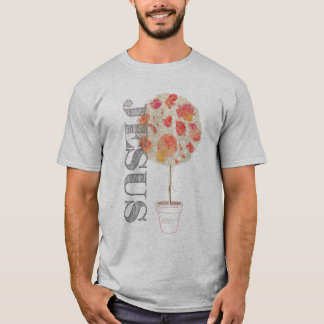 Camiseta Enraizado e aterrado firme no amor Lm