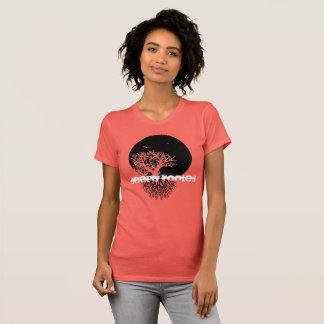 Camiseta Enraizado profundamente com lua