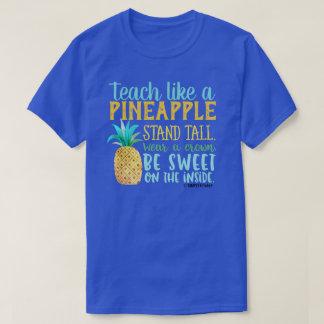 Camiseta Ensine como um abacaxi