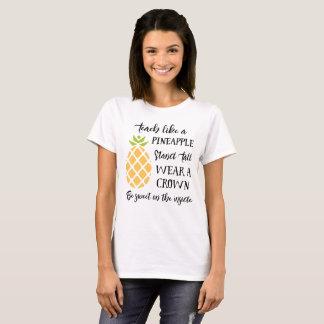 Camiseta Ensine como um acampamento da escola de verão do