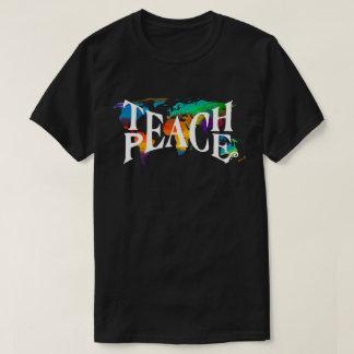 Camiseta Ensine o amor da tolerância do mundo do 🌎 da
