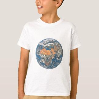 Camiseta Enterre a vista focalizada no berço da civilização