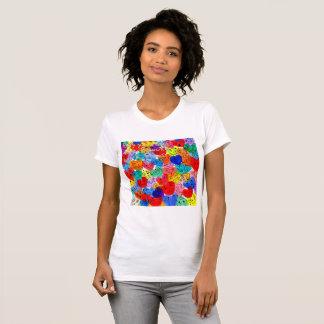 Camiseta Enterro você mesmo no amor porque o trabalho funde