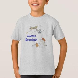 Camiseta Entomologista assistente