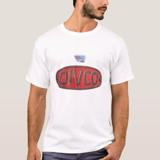 Camiseta Entrega do caminhão do leite de DIVCO