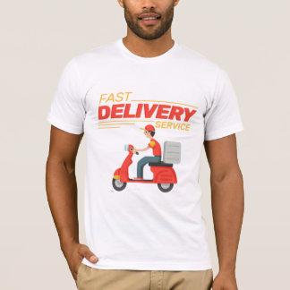 Camiseta Entrega do fast food