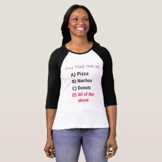Camiseta Entrevista da comida
