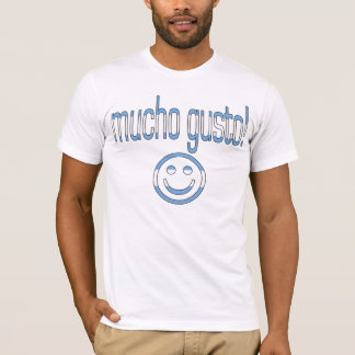 Camiseta Entusiasmo de Mucho! Cores da bandeira de