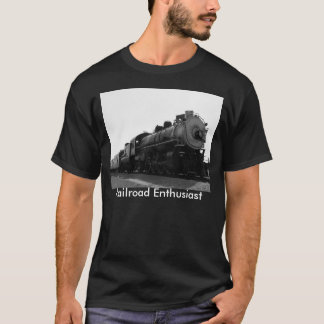 Camiseta Entusiasta da estrada de ferro