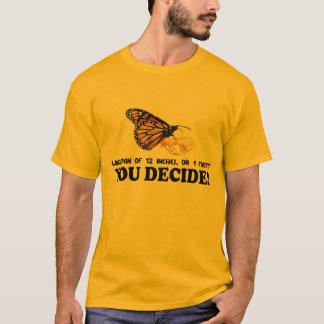 Camiseta Envergadura da borboleta - t-shirt leve