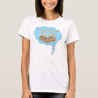 Camiseta Envie mais biscoitos!