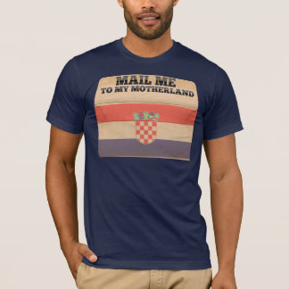 Camiseta Envie-me a Croatia