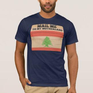 Camiseta Envie-me a Líbano