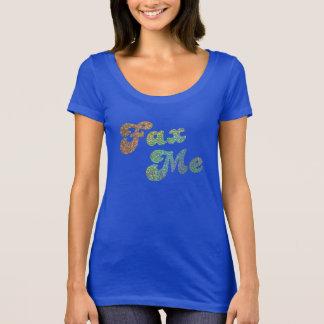 Camiseta Envie-me - a parte superior holográfica do olhar