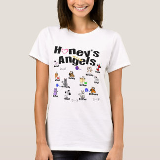 Camiseta Envie-me por correio electrónico para os anjos da
