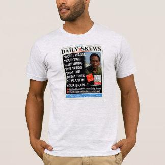 Camiseta Enviesamentos diários