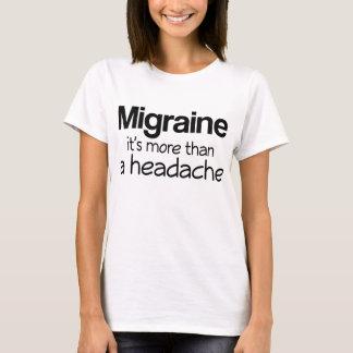Camiseta Enxaqueca é mais do que uma dor de cabeça