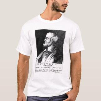 Camiseta Epicurus, gravado por Johann Fredrich Schmidt