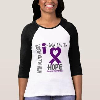 Camiseta Epilepsia que eu me aferro para esperar