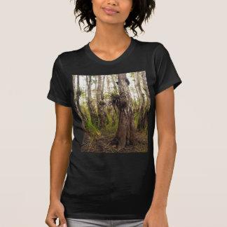Camiseta Epiphyte Bromeliad na floresta de Florida