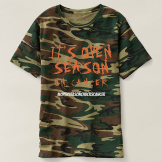Camiseta Época de caça no cancer