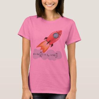 Camiseta Equação da astronáutica