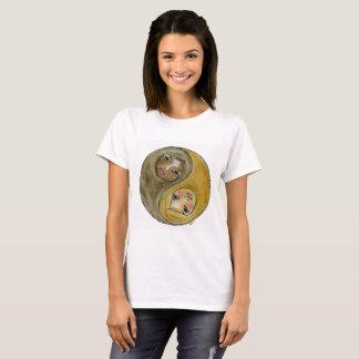 Camiseta Equilíbrio através da conexão